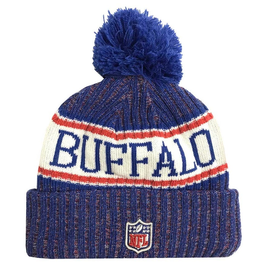 27586a43 Shop New Era 2018 NFL Buffalo Bills Sport Stocking Knit Hat Winter Beanie  11768201 - Free Shipping On Orders Over $45 - Overstock - 23042932