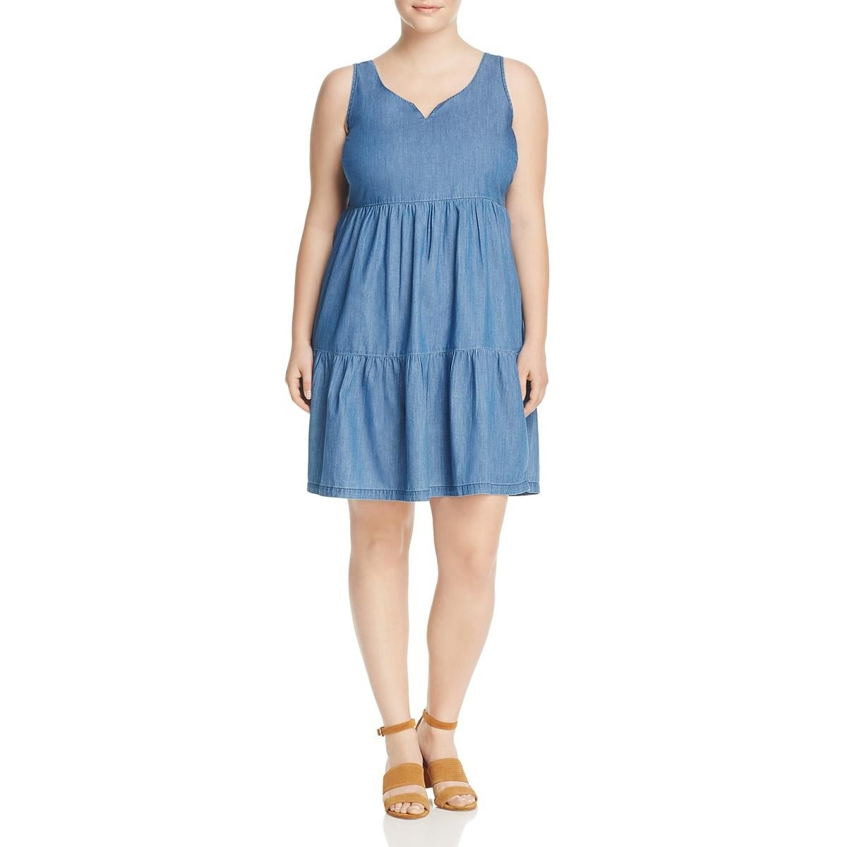 947548ee121 Shop Junarose Womens Plus Jrmira Casual Dress Sleeveless Above Knee - On  Sale - Free Shipping On Orders Over  45 - Overstock - 22996527