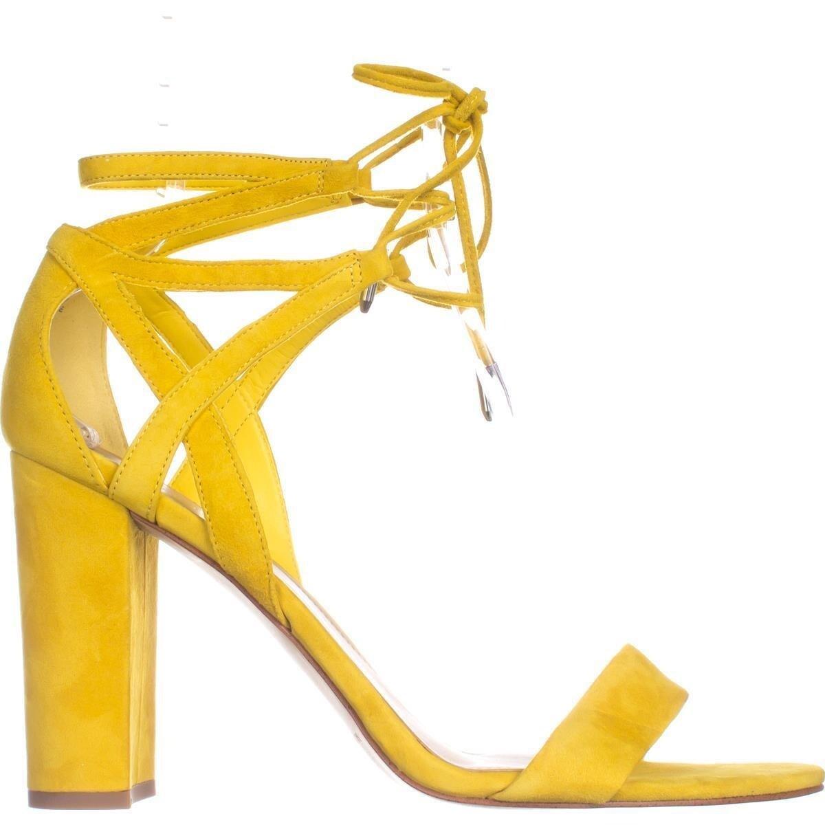 ba939da022e8 Shop Marc Fisher Fatima Lace-Up Block-Heel Sandals
