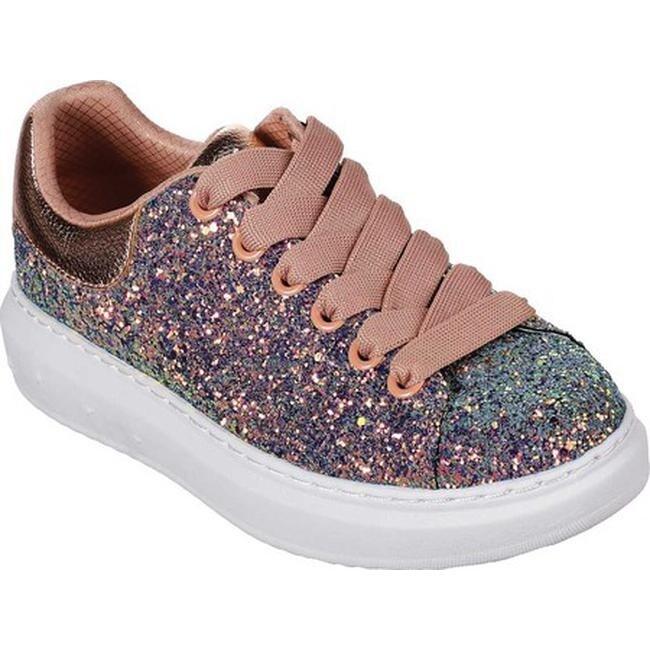 10a47538bb7e Shop Skechers Women's High Street Glitter Rockers Sneaker Gold/Multi - Free  Shipping Today - Overstock - 25578169