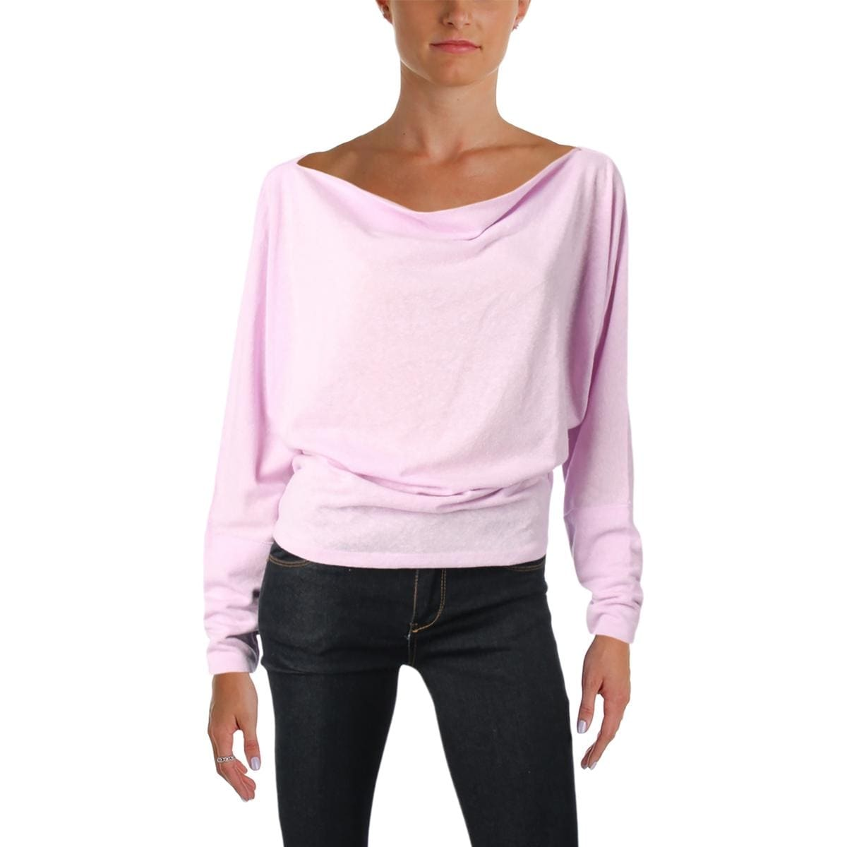 cf4ca74d8f4c5 Shop Free People Womens Valencia Casual Top Slouchy Off-The-Shoulder - Free  Shipping On Orders Over  45 - Overstock - 19561502
