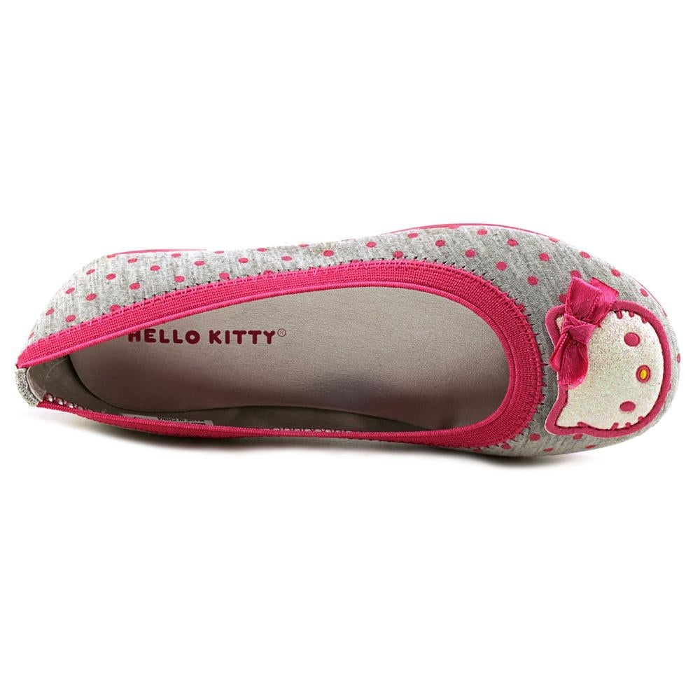 bfe851ec2 Shop Hello Kitty darling Youth Round Toe Canvas Gray Flats - Free Shipping  On Orders Over $45 - Overstock - 16573525