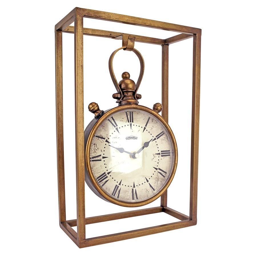 Shop Industrial Age Mantel Clock DESIGN TOSCANO steampunk industry ...