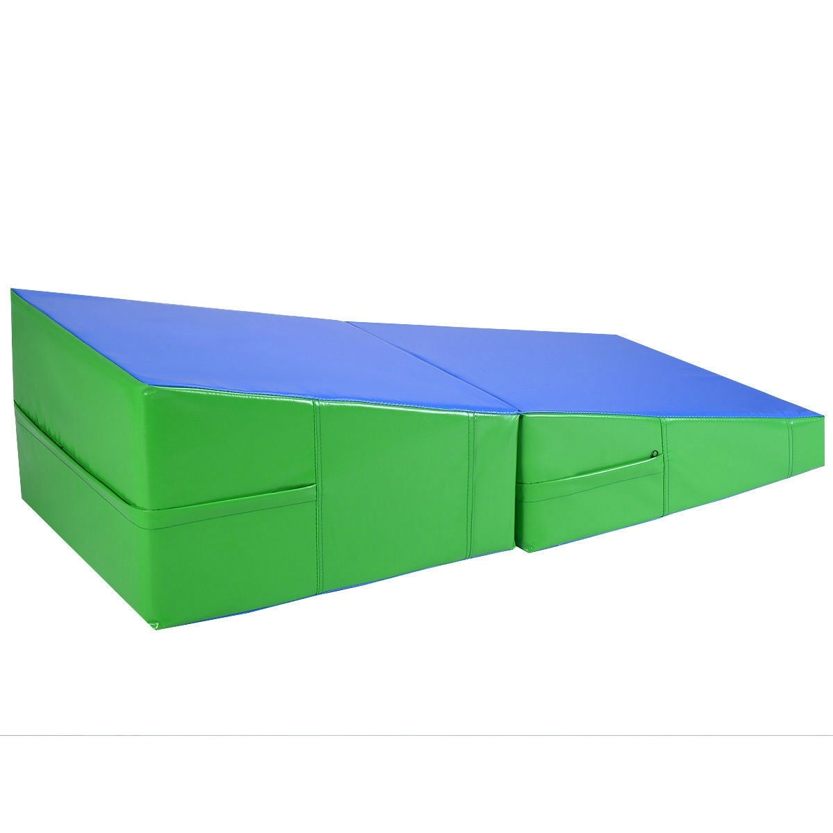 sports gym incline eq aerobics wedge mat tumbling ramp d itm mats gymnastics exercise