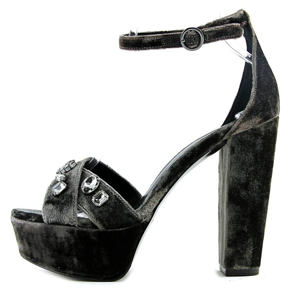 Nine West Callisto Open Toe Canvas Platform Heel - Free Shipping On Orders  Over $45 - Overstock.com - 24156339
