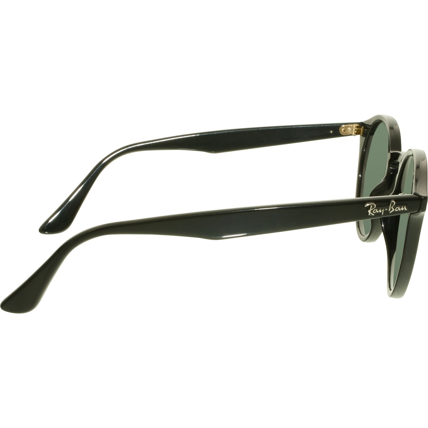 352fbd545b967 Shop Ray-Ban Women s RB2180 RB2180-601 71-49 Black Round Sunglasses - Free  Shipping Today - Overstock.com - 18901316 .