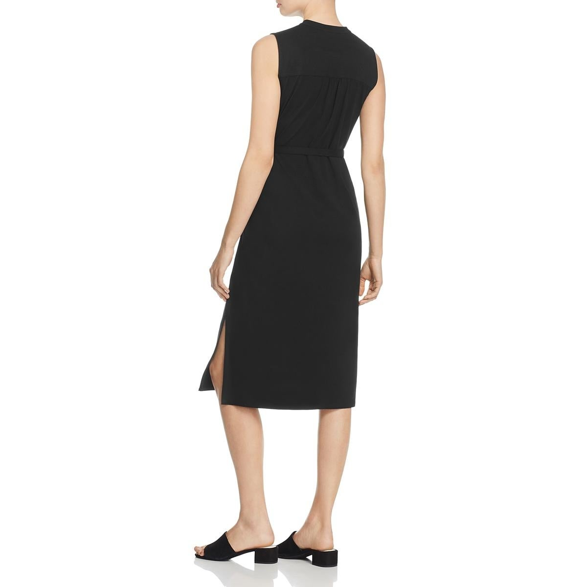 f832915563a57 Shop Eileen Fisher Womens Shirtdress Tencel Sleeveless - Free Shipping On  Orders Over  45 - Overstock - 20904984