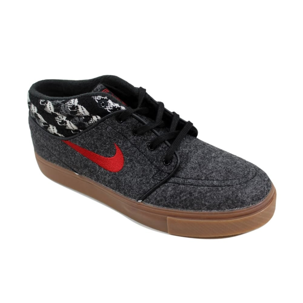 a66bd209dd3d6 Shop Nike Men s Stefan Janoski Mid Warmth Black Gym Red-Gum Medium Brown  685276-062 - On Sale - Free Shipping Today - Overstock - 24016636