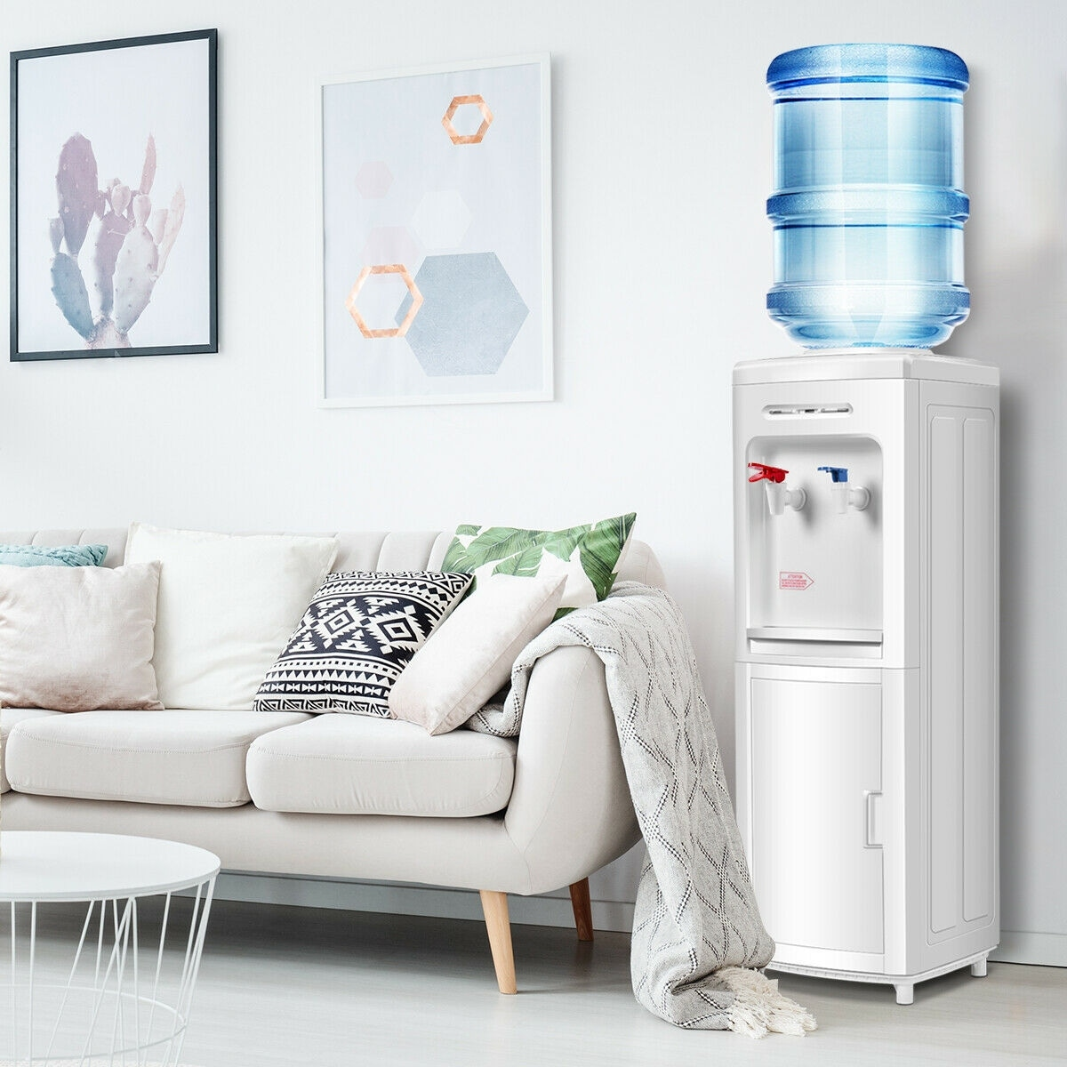 15d0c7efa3 Shop Water Dispenser 5 Gallon Bottle Load Electric Primo Home - White - On  Sale - Free Shipping Today - Overstock - 15633677