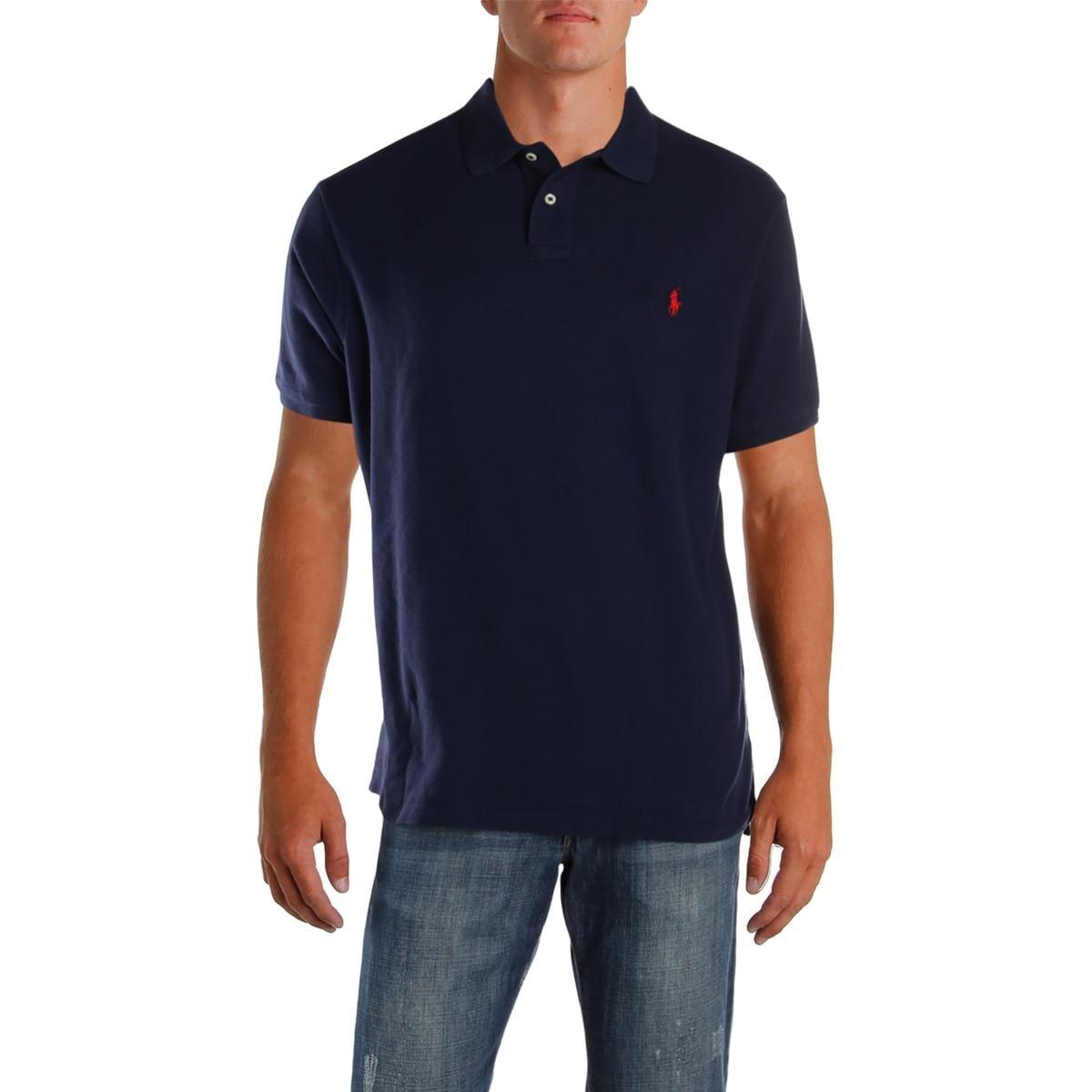 Shop Polo Ralph Lauren Mens Polo Shirt Slim Fit Mesh Xxl Free