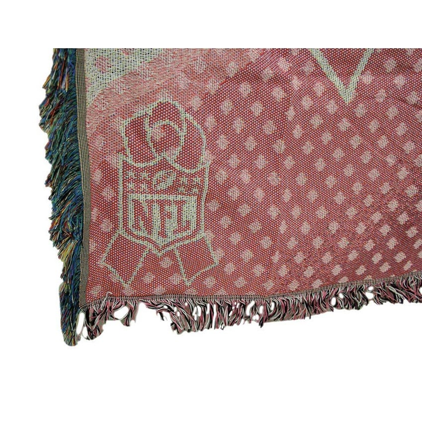 Shop Green Bay Packers Breast Cancer Awareness Tapestry Throw Best Green Bay Packers Throw Blanket