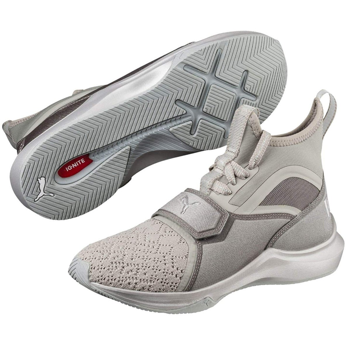 fa439a9b6ff7 Shop PUMA Women s Phenom Ep High-Top Fabric Running Shoe - 10.5 - Free  Shipping On Orders Over  45 - Overstock.com - 27032557