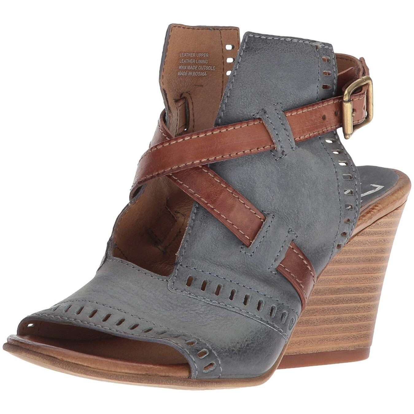 7bab1d25f19e8 Shop Miz Mooz Womens Kipling Leather Open Toe Casual Ankle Strap ...