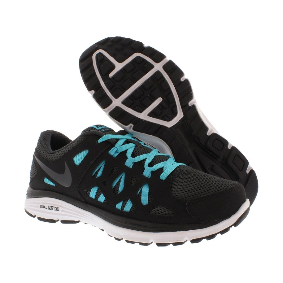 buy online 64237 7bdcc Shop Nike Dual Fusion Run 2 (GS) Kid s Shoes - Free Shipping Today -  Overstock - 22124552