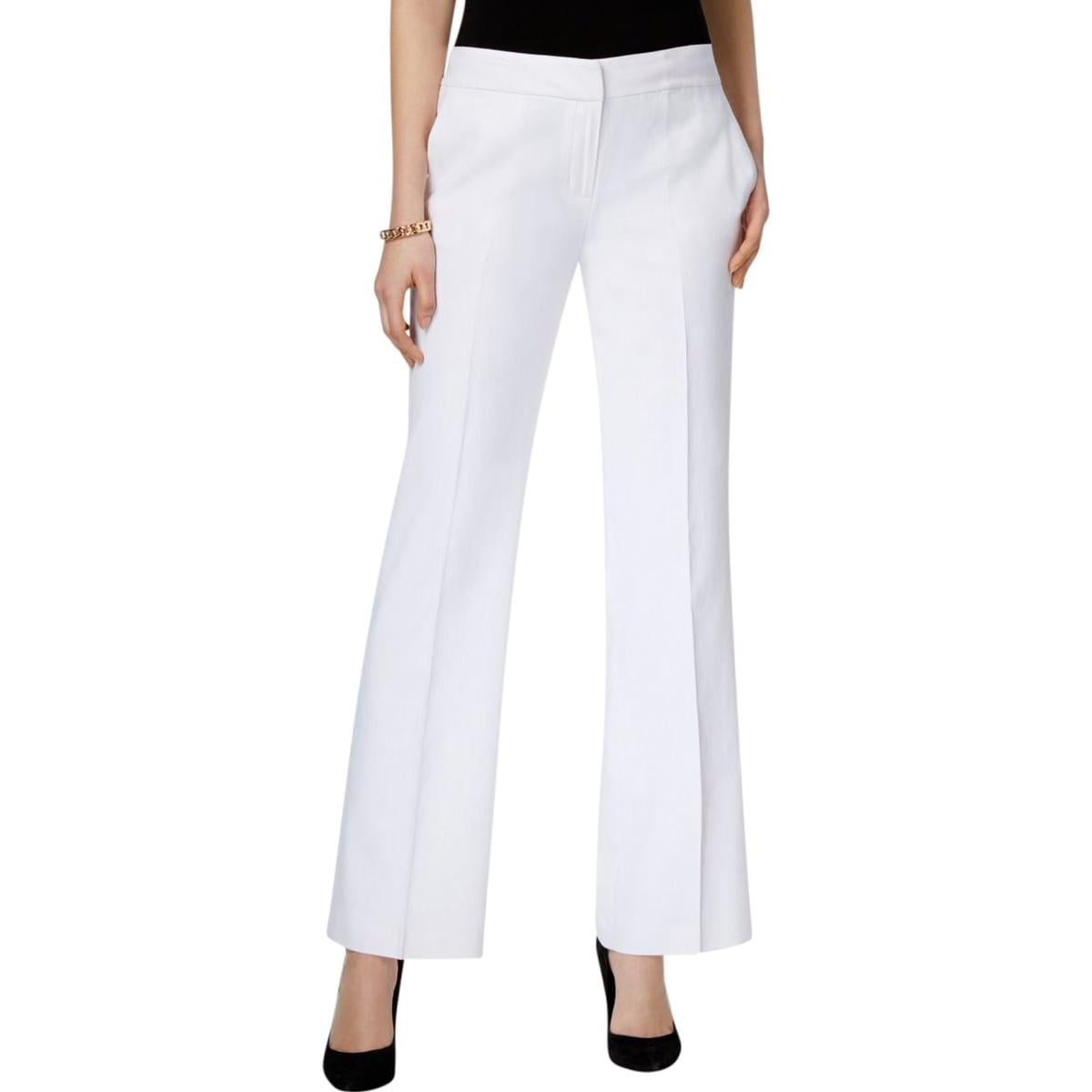 Shop Nine West Womens The Neo Classic Dress Pants Linen Straight Leg - Free  Shipping On Orders Over  45 - Overstock.com - 20982912 e399ad8523