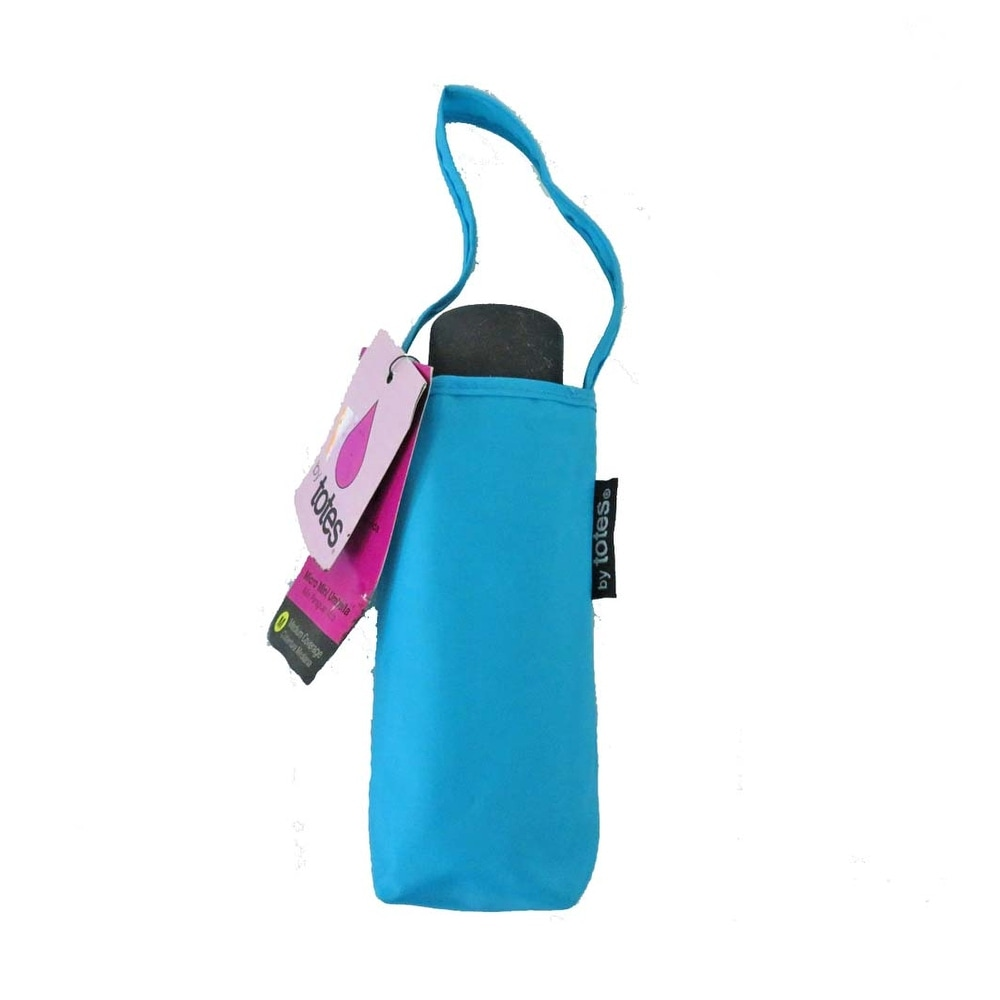 Shop Raines By Totes Micro Mini Aqua Umbrella With Medium Coverage