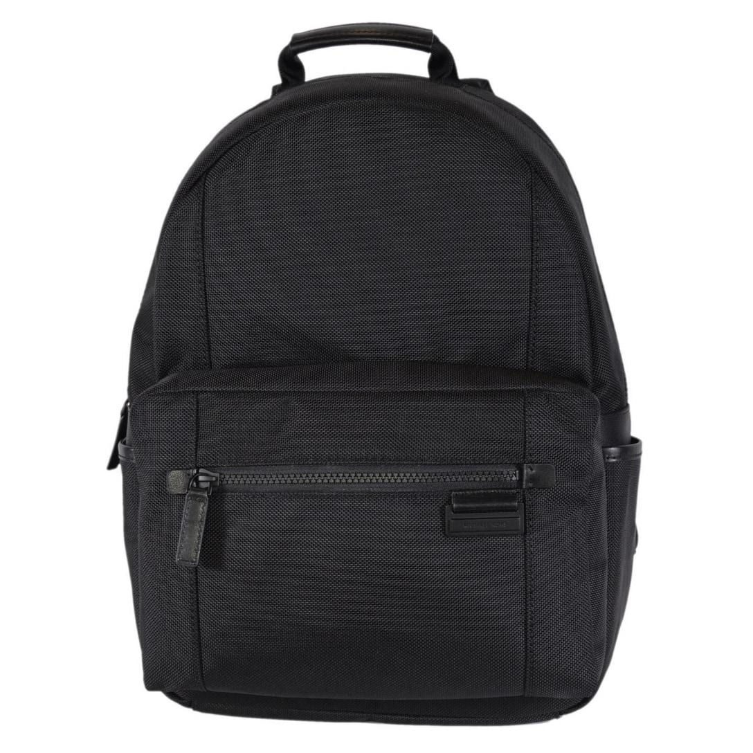 a731330402f6 Shop Michael Kors Men's Black Nylon Travis Backpack Rucksack Bag - 11.25