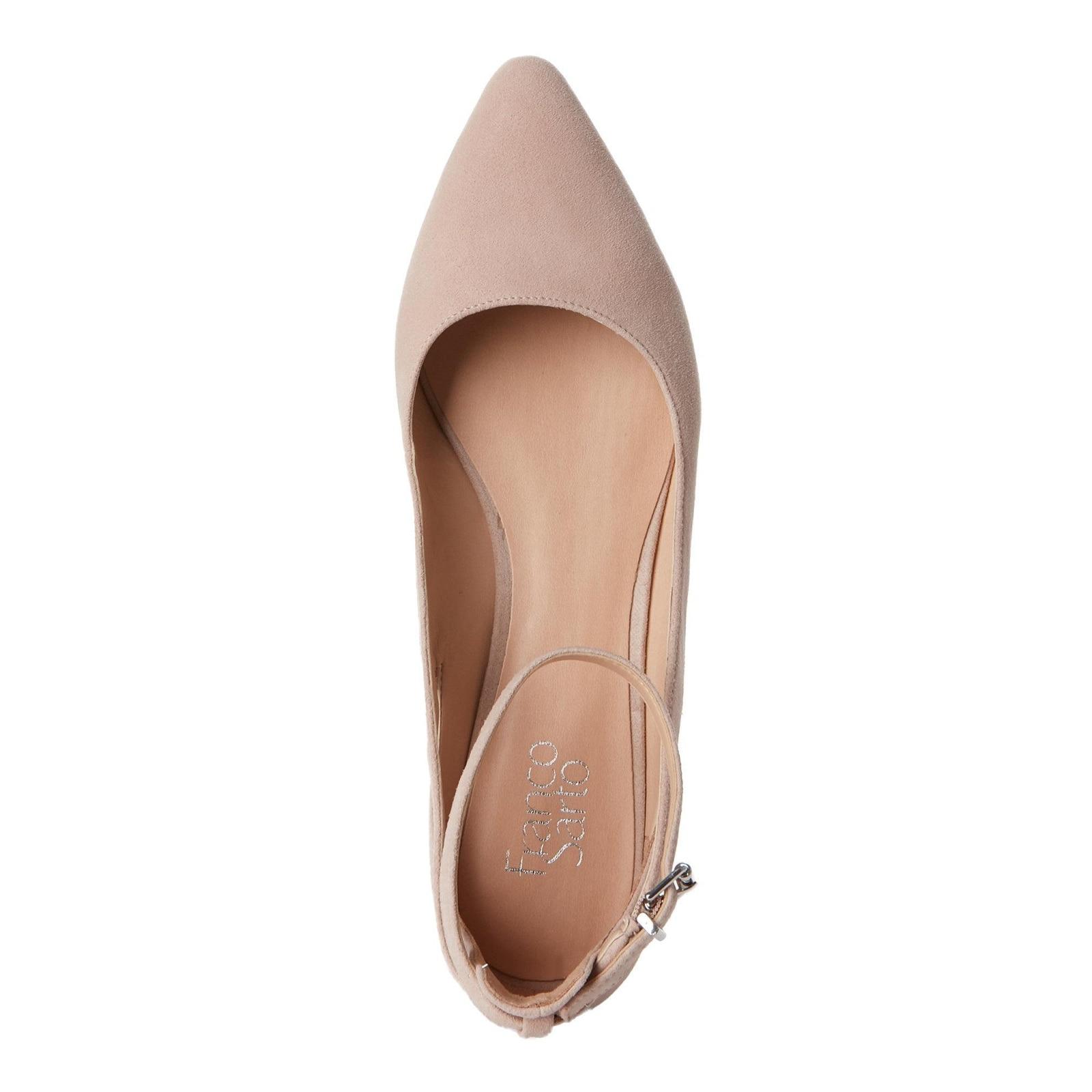 64415390855 Franco Sarto Womens sylvia Pointed Toe Ankle Strap Espadrille Flats
