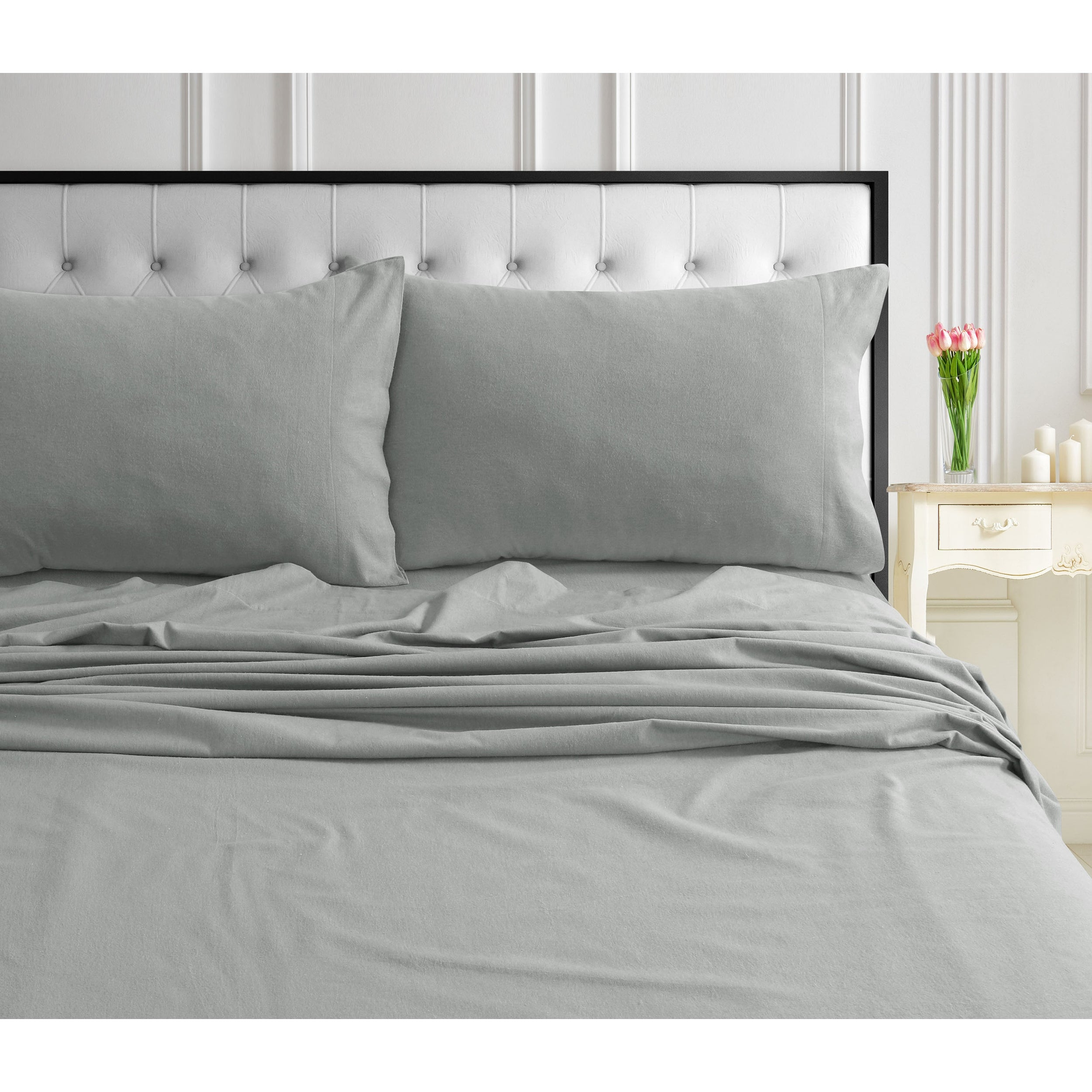 Cozy And Ultra Soft Flannel Deep Pocket Bed Sheet Set With Oversized Flat On Sale Overstock 24030254