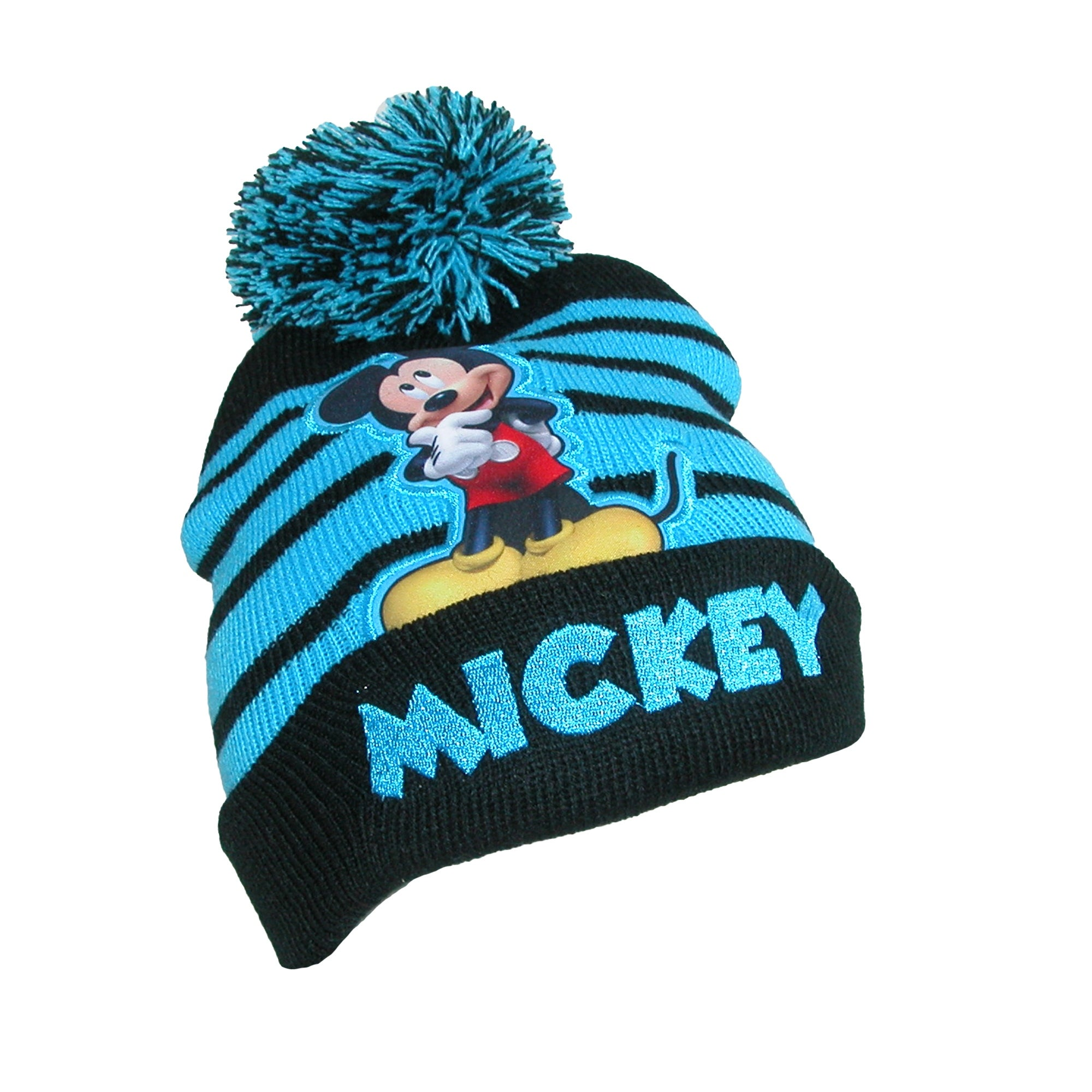 ae8cbd958be21b Shop Disney Infant / Toddler's Mickey Mouse Hat and Mitten Winter Set -  Free Shipping On Orders Over $45 - Overstock - 17904750