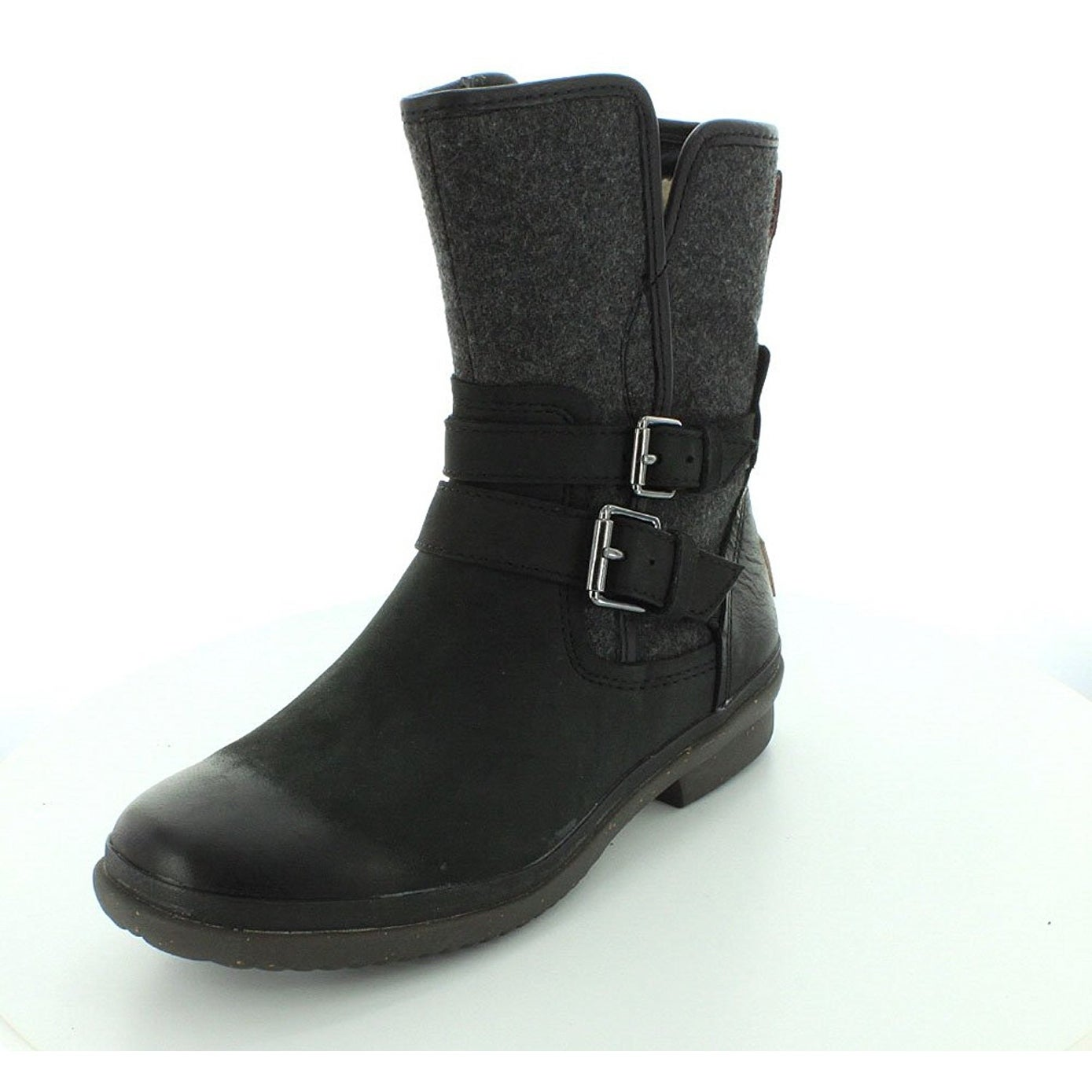 Shop Ugg Women s Simmens lined with Plush Wool Leather Boot - Free ... a56f38a0d