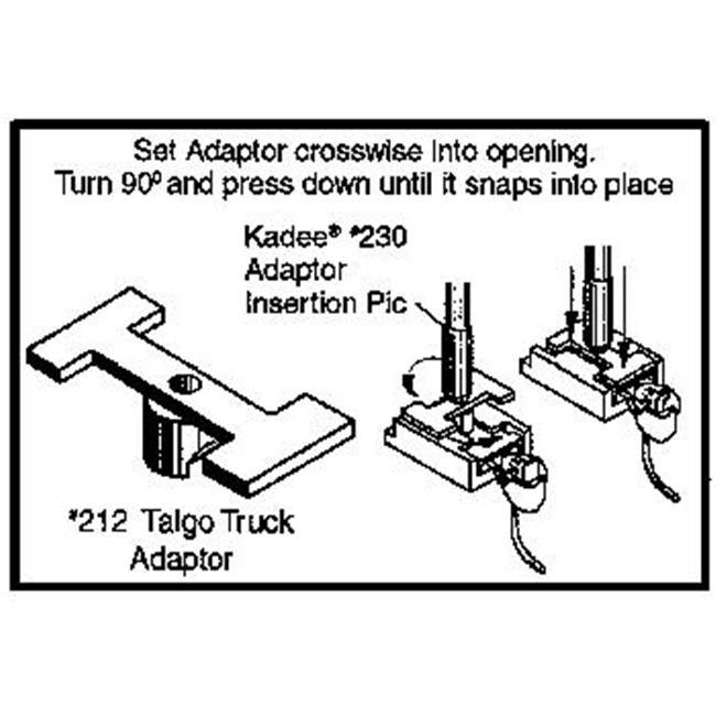 Shop Kadee Kad212 Talgo Truck Adaptor