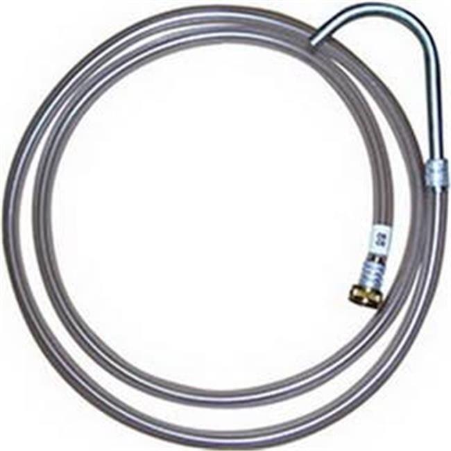 Medium Pressure Hose 0 5 in  I D x 10 ft  Long 0 5 x 0 5 in  NPT