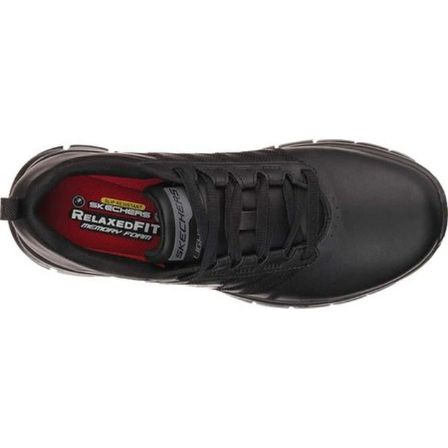 42a7ed38b55 Shop Skechers Women s Work Relaxed Fit Sure Track Erath Slip Resistant Black  - On Sale - Free Shipping Today - Overstock - 10368586