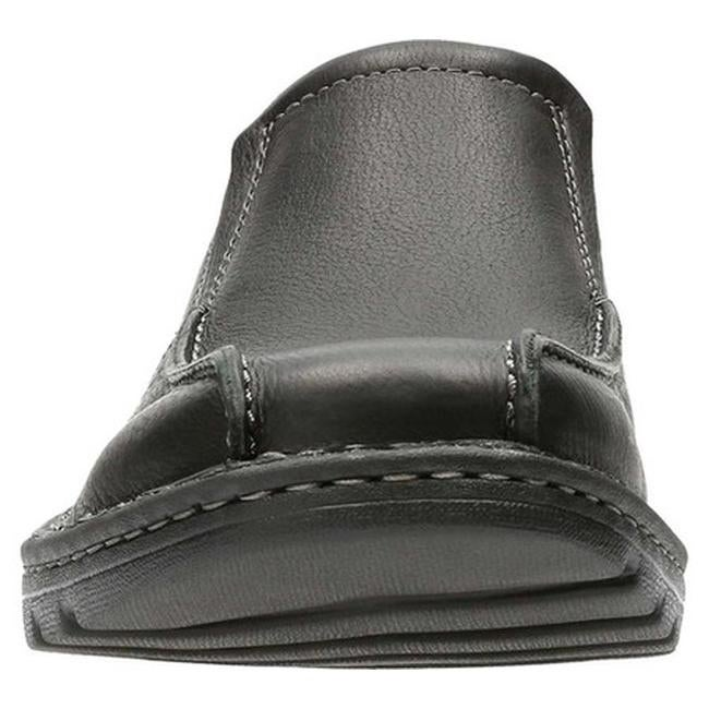 d22295200c Shop Clarks Men's Vanek Step Slip-On Black Oily Full Grain Leather - On  Sale - Free Shipping Today - Overstock - 20691703
