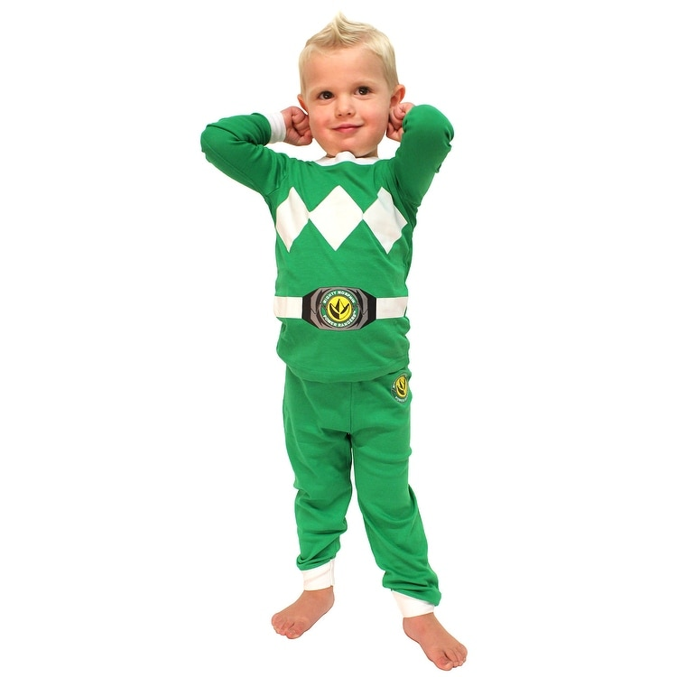 3cbc4a0c63 Shop Intimo Toddler Mighty Morphin Power Rangers Costume Pajama Set - On  Sale - Free Shipping On Orders Over  45 - Overstock - 17935750