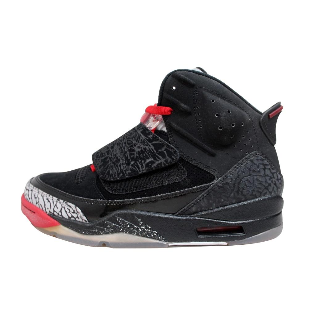 ca708347d443 Nike Men s Air Jordan Son Of Mars Black Varsity Red-Cement Grey-White Bred  512245-001