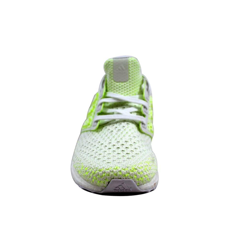 1888e99fc Shop Adidas Men s UltraBoost Clima White Solar Yellow Shock Yellow AQ0481 -  Free Shipping Today - Overstock.com - 23436621