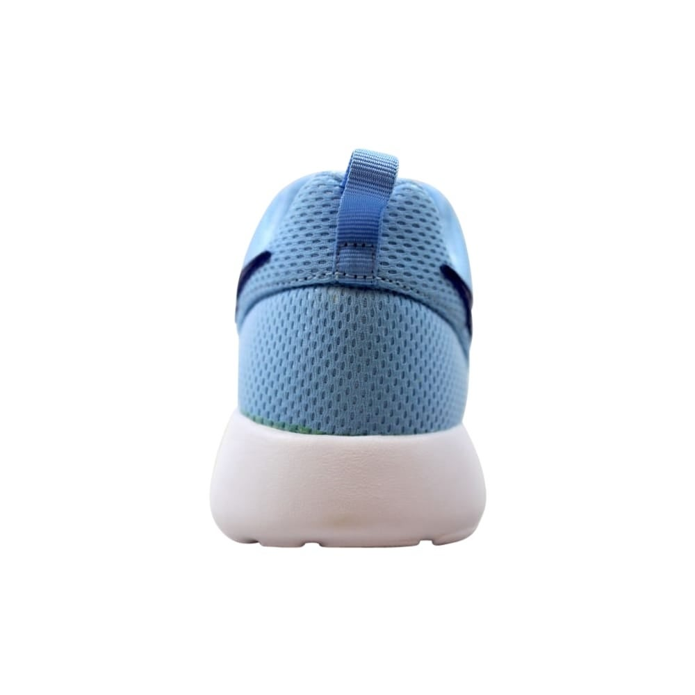 70e42b83fd487 Shop Nike Roshe One Bluecap Deep Royal Blue-White 599729-410 Grade-School -  Free Shipping Today - Overstock - 27993556