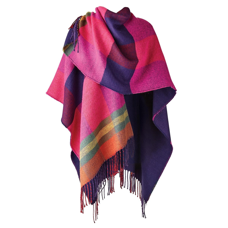 Awesome Ruana Pattern Sew Photo - Blanket Knitting Pattern Ideas ...