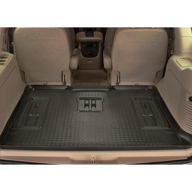 Shop Husky Classic  Ford Expedition Funkmaster Flex Edition Rd Row Black Rear Floor Mats Liners Free Shipping Today Overstock Com