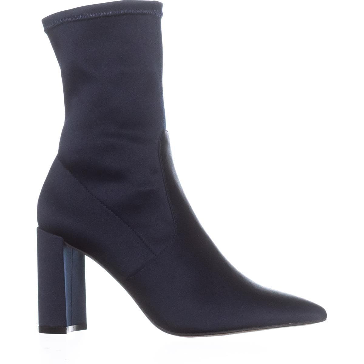 321700371625 Shop I35 Savina Pointed-Toe Ankle Boots, Storm Blue - 6 us - Free Shipping  On Orders Over $45 - Overstock.com - 22368814
