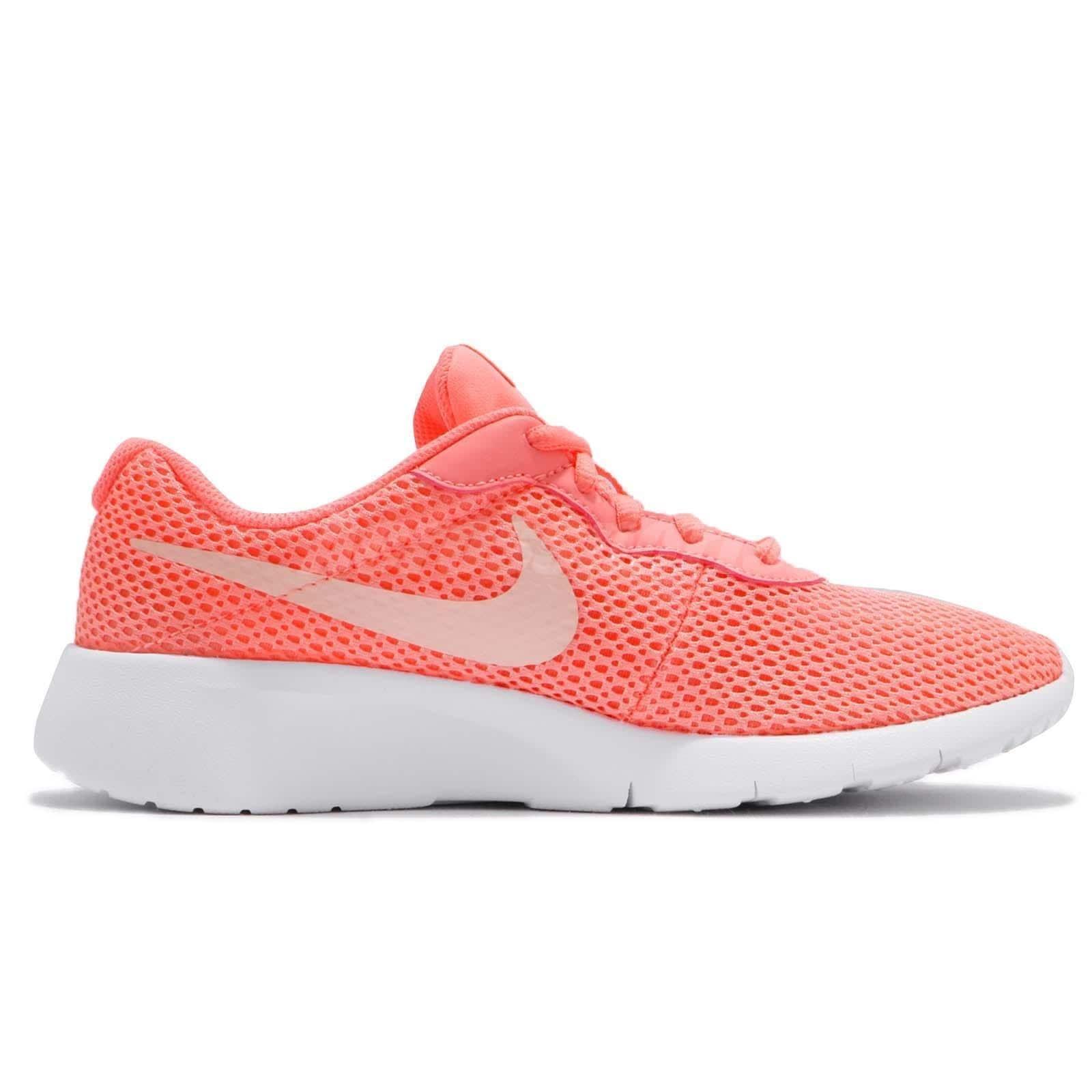 best service 5f915 901db Shop Nike Girls Tanjun Shoe Sneakers 818384-602 - lt atomic pinkcrimson  tintwhite - Free Shipping Today - Overstock - 23501020