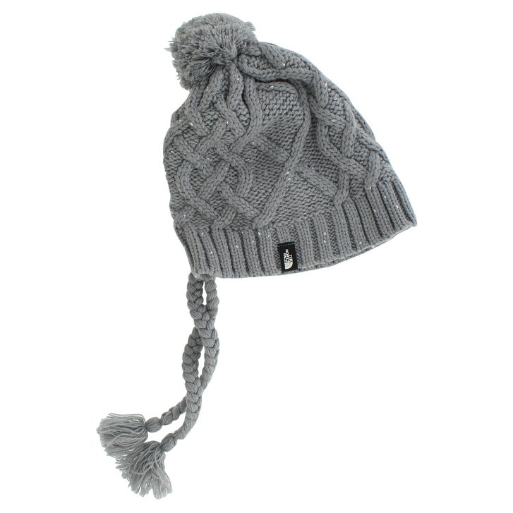 8ae8f73afb4 Shop The North Face Womens Flecka Earflap Beanie Hat Grey One Size - One  size - Free Shipping On Orders Over  45 - Overstock - 22702801