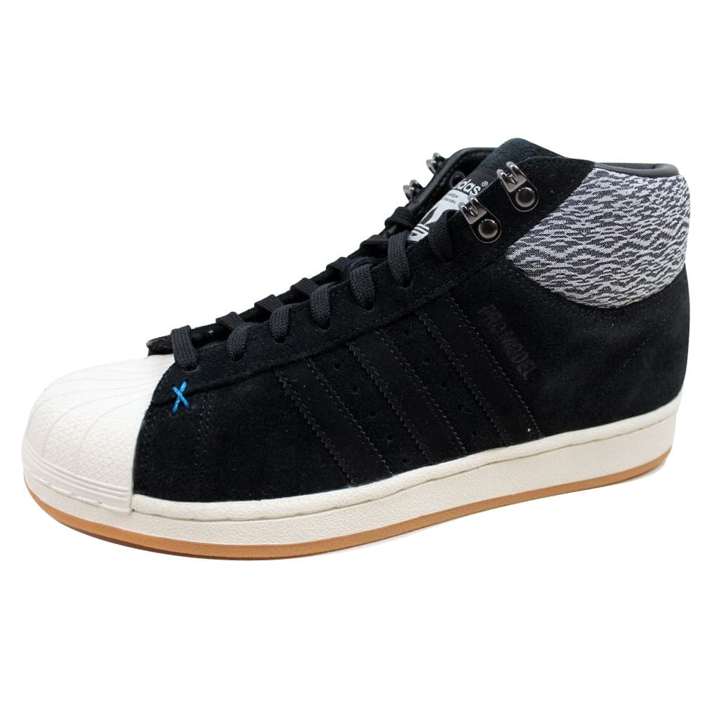 4f1ce03bf16 Shop Adidas Pro Model BT Black Black-White AQ8159 Men s - Free Shipping  Today - Overstock - 19507577