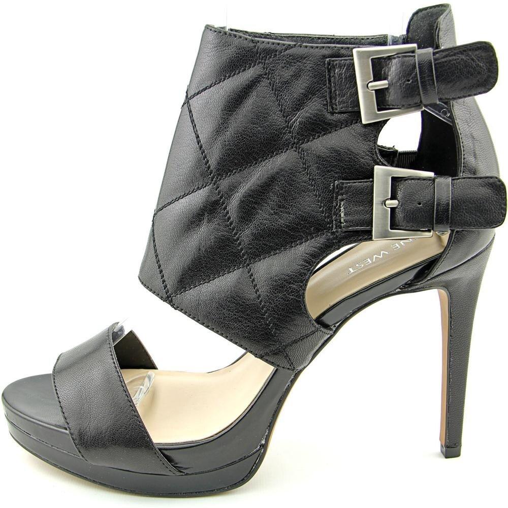 Nine West Brake Dance Women Open Toe Leather Black Platform Heel - Free  Shipping On Orders Over $45 - Overstock.com - 20247754
