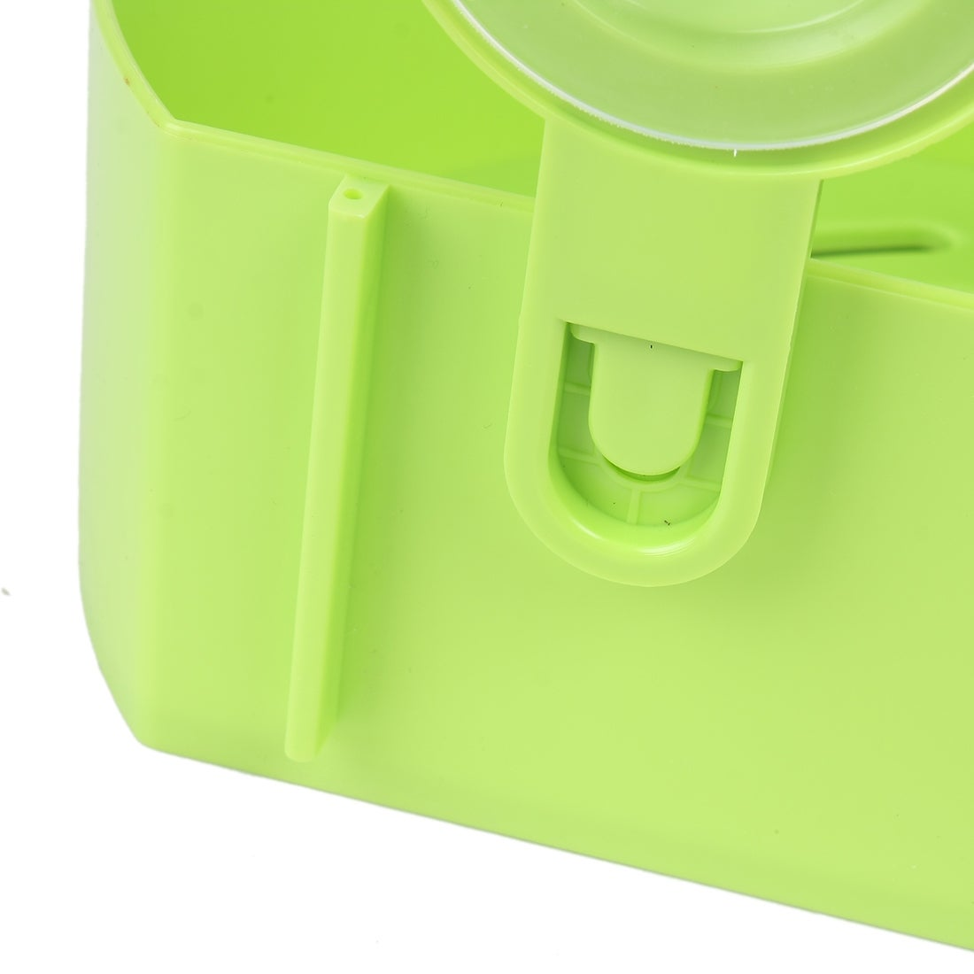 Shop Unique Bargains Plastic Bathroom Wall Corner Suction Cup Triangle  Storage Shelves Rack Green   On Sale   Free Shipping On Orders Over $45 ...