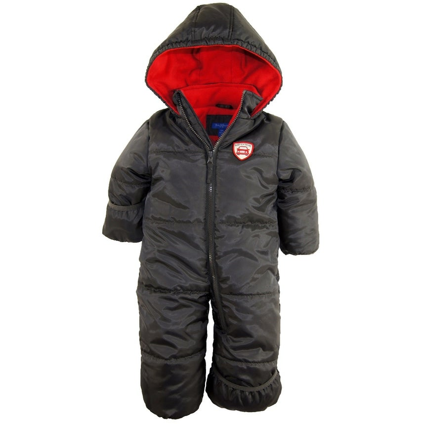 1740effe0 Shop iXtreme Baby Boys Expedition Puffer Winter Snowsuit Pram Bunting Suit  - Free Shipping On Orders Over $45 - Overstock - 18894853
