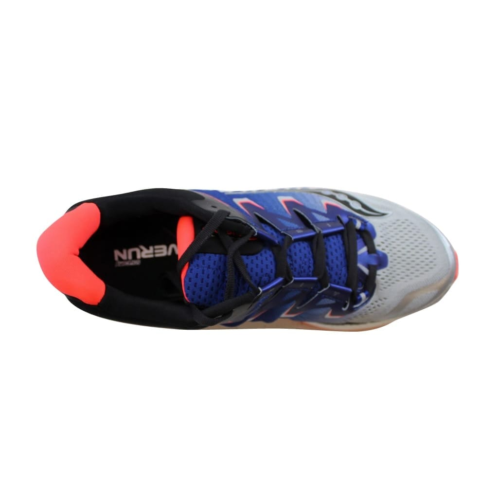 02f88a103c20 Shop Saucony Men s Triumph Iso 4 Silver Blue-Viz Red S20413-35 - Free  Shipping Today - Overstock - 22340555
