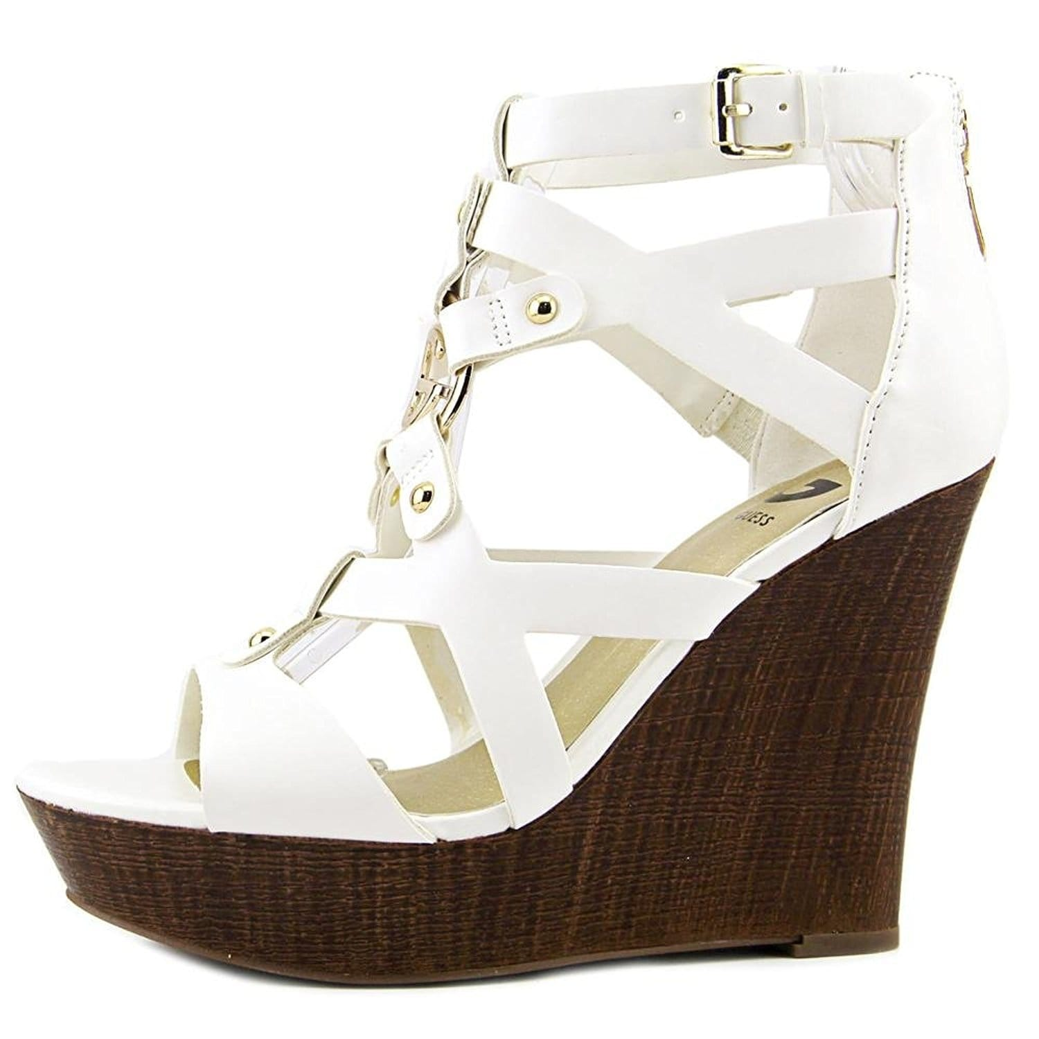 f96b8bb43af6 Shop G by Guess Womens Dodge Open Toe Casual Platform Sandals - Free  Shipping On Orders Over  45 - Overstock - 17637059