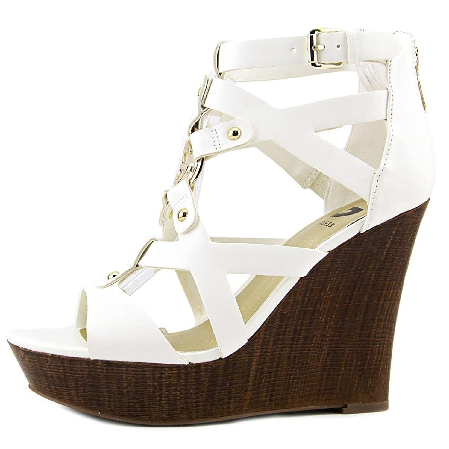 7eef905fe97 Shop G by Guess Womens Dodge Open Toe Casual Platform Sandals - Free  Shipping On Orders Over  45 - Overstock - 17637059