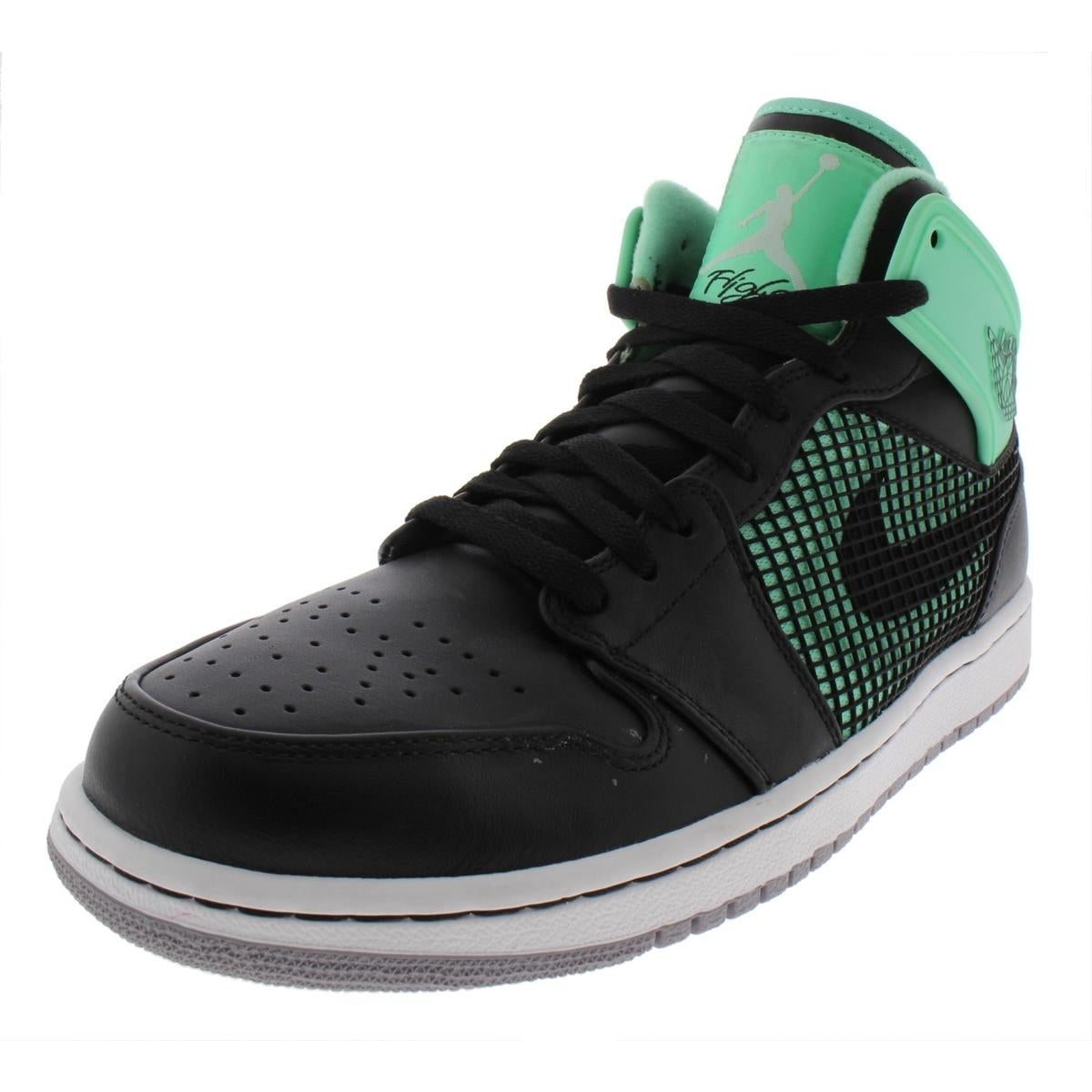 half off 648a3 23304 Nike Mens Air Jordan 1 Retro  89 Basketball Shoes Leather Hightop