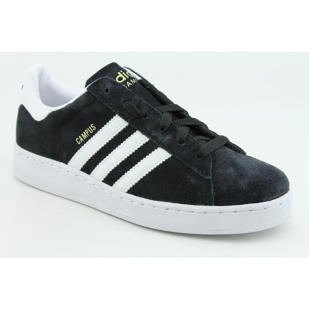 separation shoes 3d6aa 17798 Adidas Campus II Youth Suede Black Fashion Sneakers