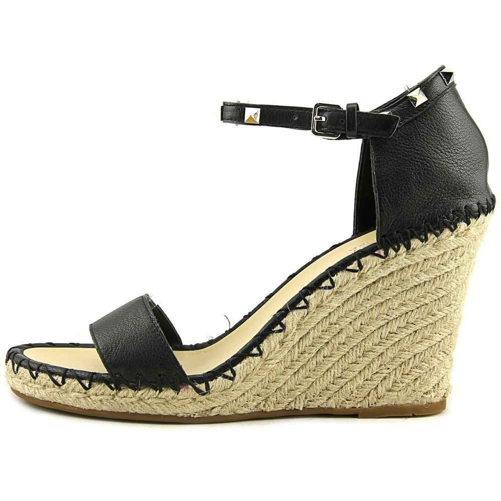 f99f531092e Shop Marc Fisher Kicker Open Toe Leather Wedge Sandal - Free Shipping On  Orders Over  45 - Overstock - 18281166