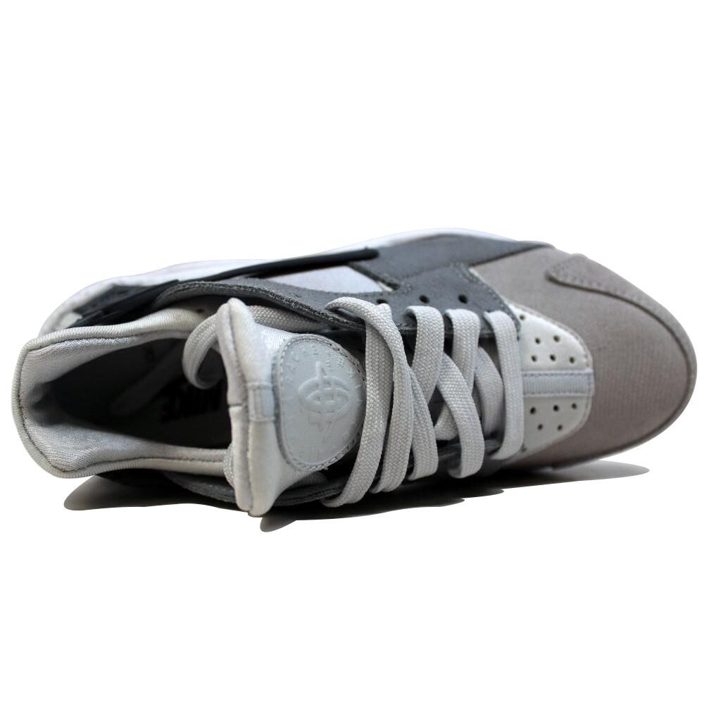 8de7ebbfdbb3 Shop Nike Women s Air Huarache Run Premium Pure Platinum Cool Grey- Anthracite-Matte Silver 683818-009 - Free Shipping Today - Overstock -  20140358