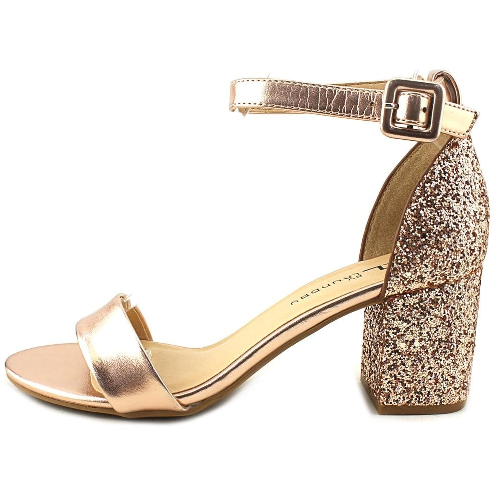 CL By Laundry Jody Women Open Toe Synthetic Gold Sandals - Free Shipping On  Orders Over $45 - Overstock.com - 25683948